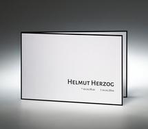 trauerkarten online drucken † memento, Einladung