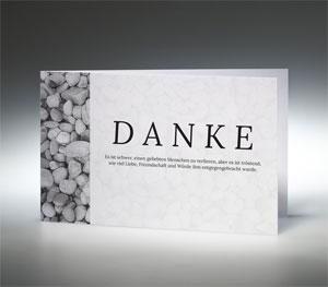 Memento Danksagungskarten Trauer verschicken